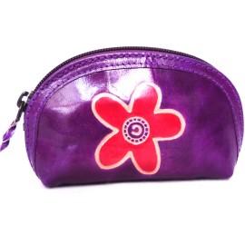Porte monnaie Macha Aria fleur violet