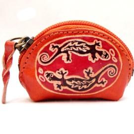 Porte monnaie Macha Art 2Gecko orange