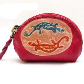 Porte monnaie Macha Art 2Gecko rouge