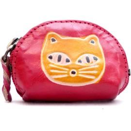 Porte monnaie Macha Art chat rouge