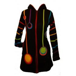 Manteau ethnique Grishma