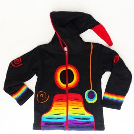 Gilet Ethnique enfant Rainbow