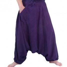 Sarouel ethnique Smash violet