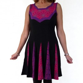 robe-tunique Electra fushia