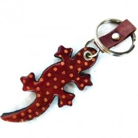 Porte clés Macha Gecko choco et bleu
