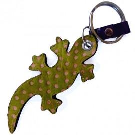 Porte clés Macha Gecko vert et rouge