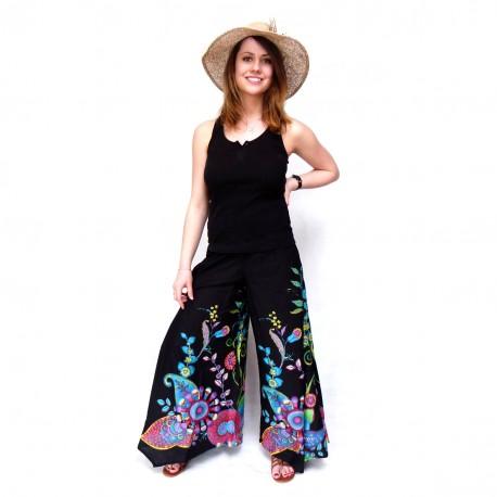 Pantalon baba-cool Vanua noir