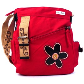 Sac bandouliere Macha Disco rouge