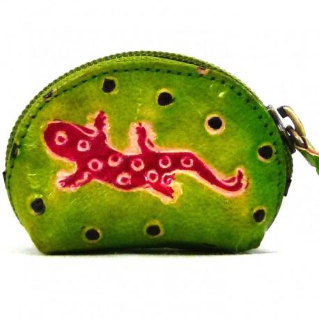Porte-monnaie Macha Art Gecko anis