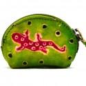 Porte monnaie Macha Art Gecko anis