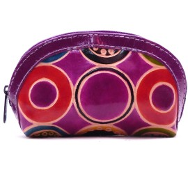 Porte monnaie Macha Aria ronds violet
