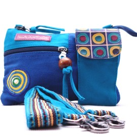 Sac Macha Kanpur bleu turquoise