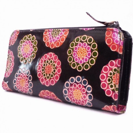 Pochette Macha Luga big wheel noir