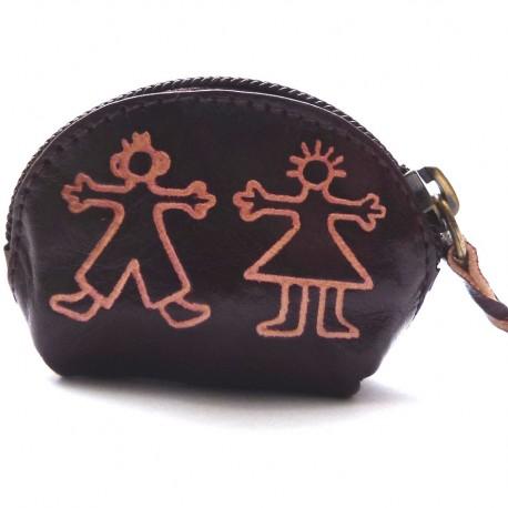 Porte monnaie Macha Art personnages choco