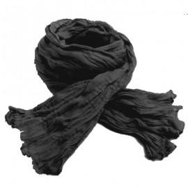 Chèche coton Macha noir