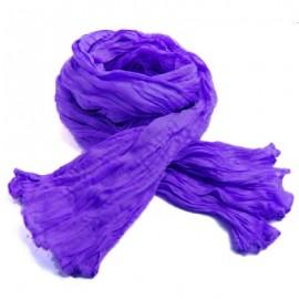 Chèche coton Macha violet