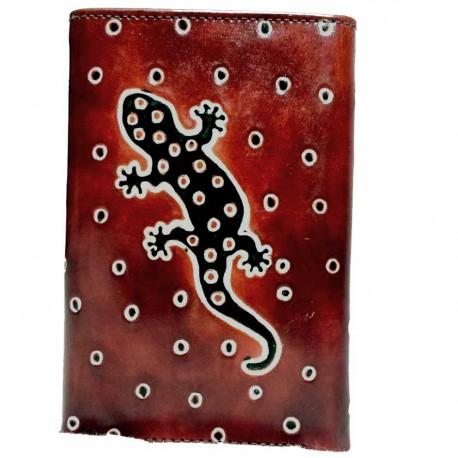 Portefeuille Macha gecko choco