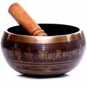 Bol chantant tibétain Mantras 14 cm