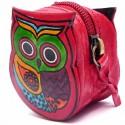 Porte monnaie Macha chouette rouge
