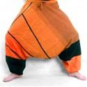 Sarouel ethnique Tinga orange