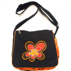 Sac ethnique Sumatra orange