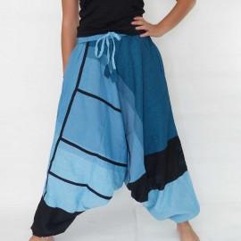 Sarouel ethnique Tinga bleu