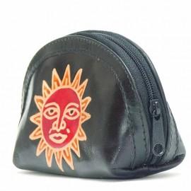 Porte monnaie Macha Aria noir soleil
