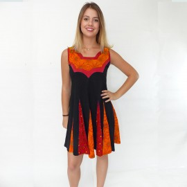 robe-tunique Electra orange