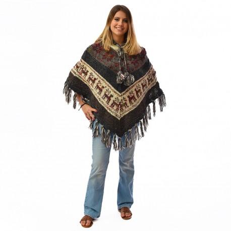 Poncho ethnique Lima
