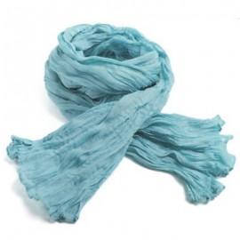 Chèche coton Macha bleu ciel