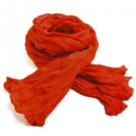 Chèche coton Macha orange