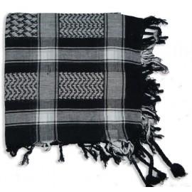 Keffieh Macha coton noir
