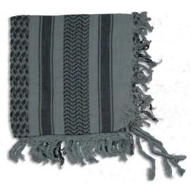 Keffieh Macha coton gris