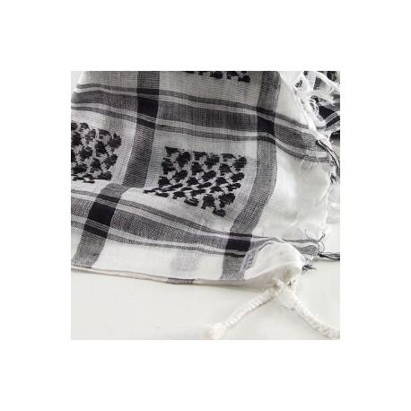 Keffieh Macha coton blanc
