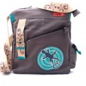 Sac Macha ethnique disco gris gecko