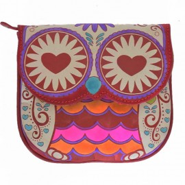 Sac Macha Hibou rouge