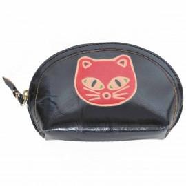 Macha Porte monnaie Aria noir chat