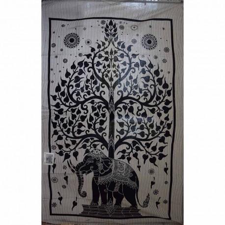 Tenture ethnique Eléphants