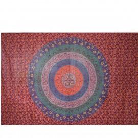 Tenture ethnique Badmari Mandala