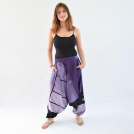 Sarouel ethnique Tinga violet