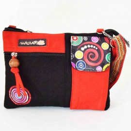 Sac Macha Kanpur rouge et noir XL
