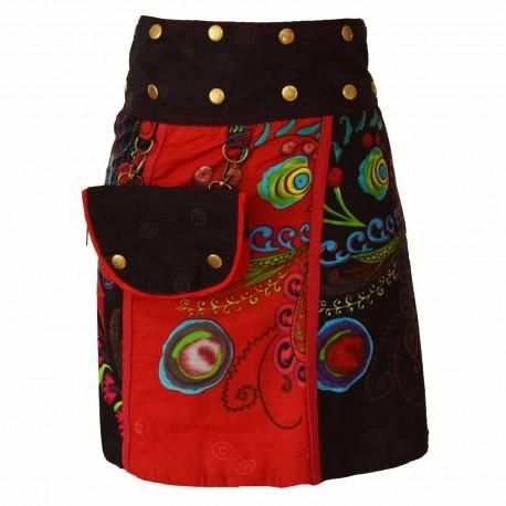 5793bc035463ec jupe portefeuille réversible Red sun2,ethnique,baba-cool,hippie,teuf