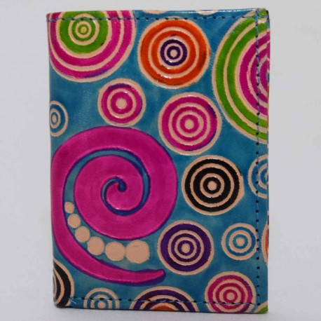 Porte cartes spirales