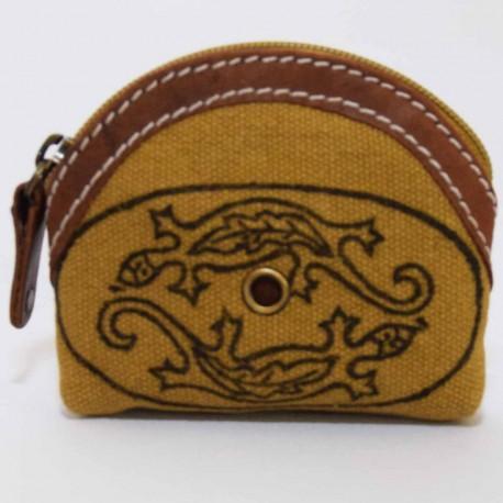 Porte monnaie Macha Badoo beige gecko
