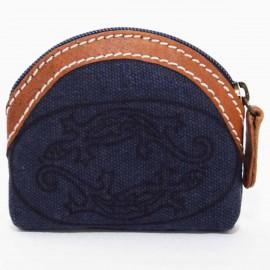 Porte monnaie Macha Badoo bleu gecko