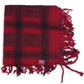 Keffieh Macha coton rouge