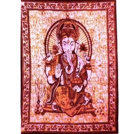 Tenture ethnique Ganesha3