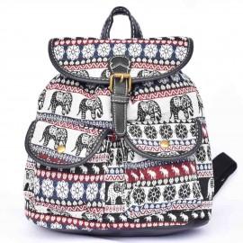 sac à dos langmaï petit éléphant noir rouge