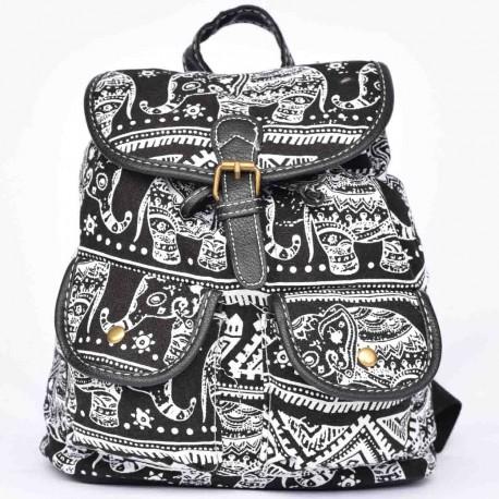 sac à dos langmaï petit éléphant noir