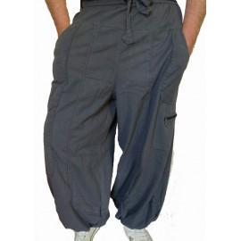 Pantalon ethnique Storm gris